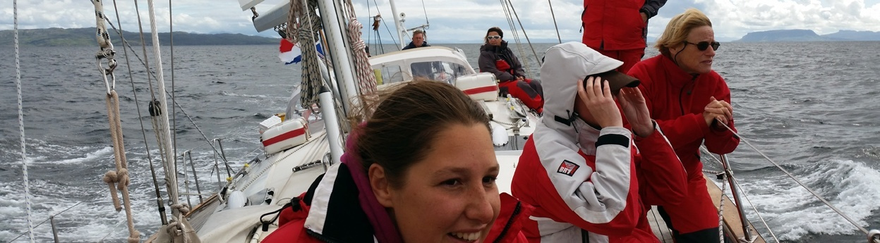 Zeilreis Shetland isles