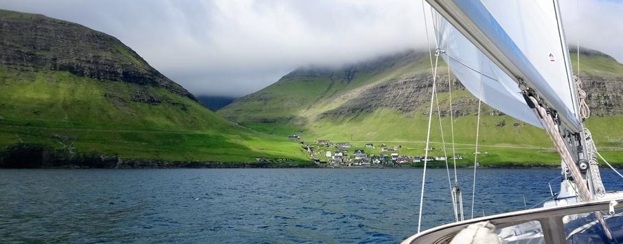 Bour sailing holidays Faroe islands