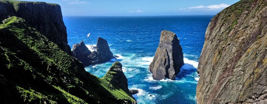 Fair Isle Shetland eilanden 1