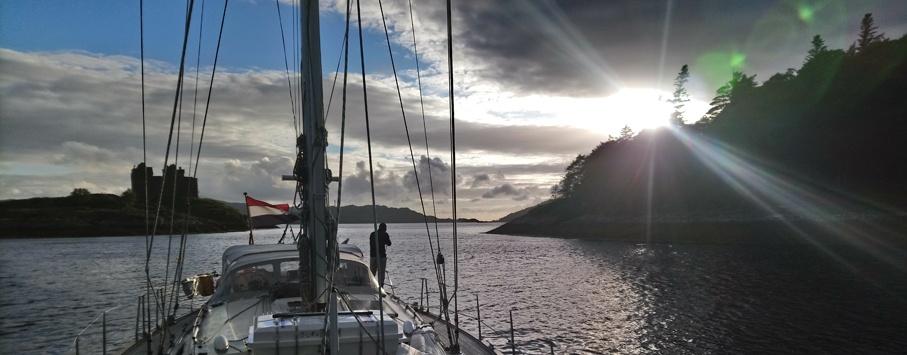 Loch Moidart Schotland
