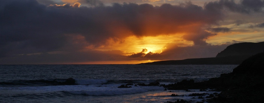 Sumburgh head Shetland isles 1