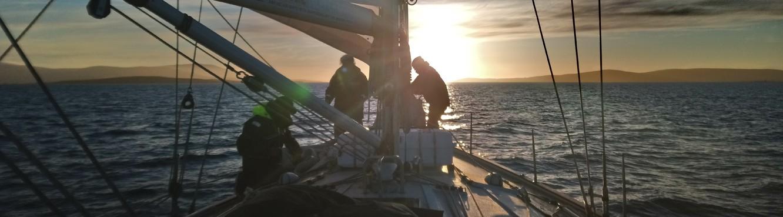 zeezeilen-ocean sailing-hochseesegeln