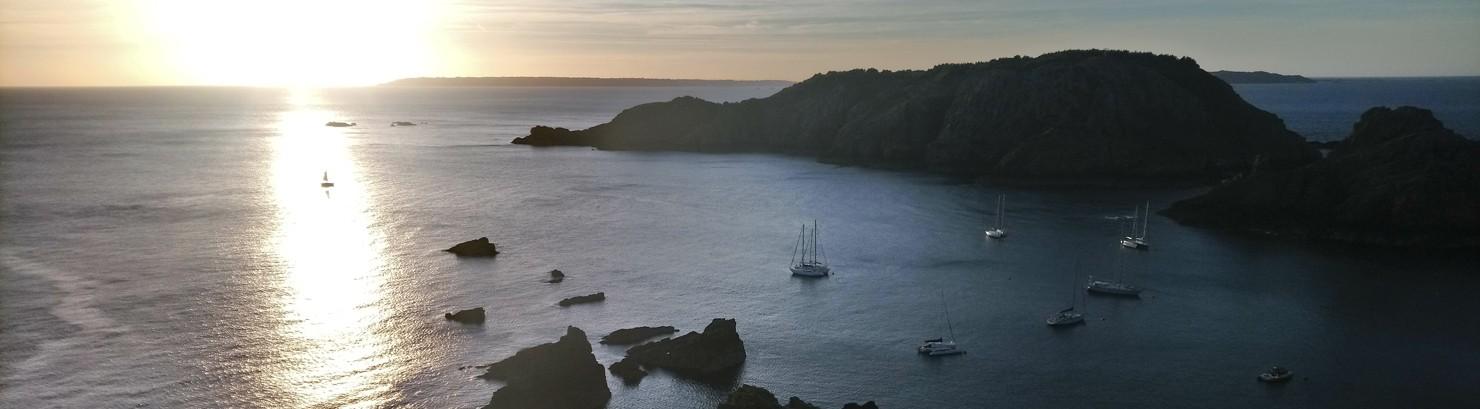 Mitsegeln Kanalinseln