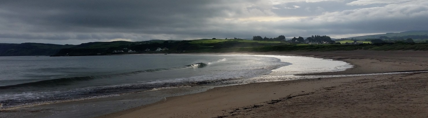 strand Ballycastle ierland