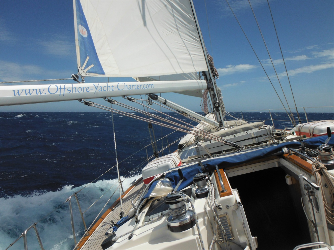 Offshore sail training