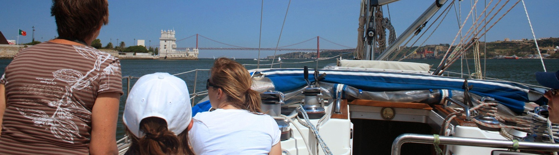 sailing river tagus