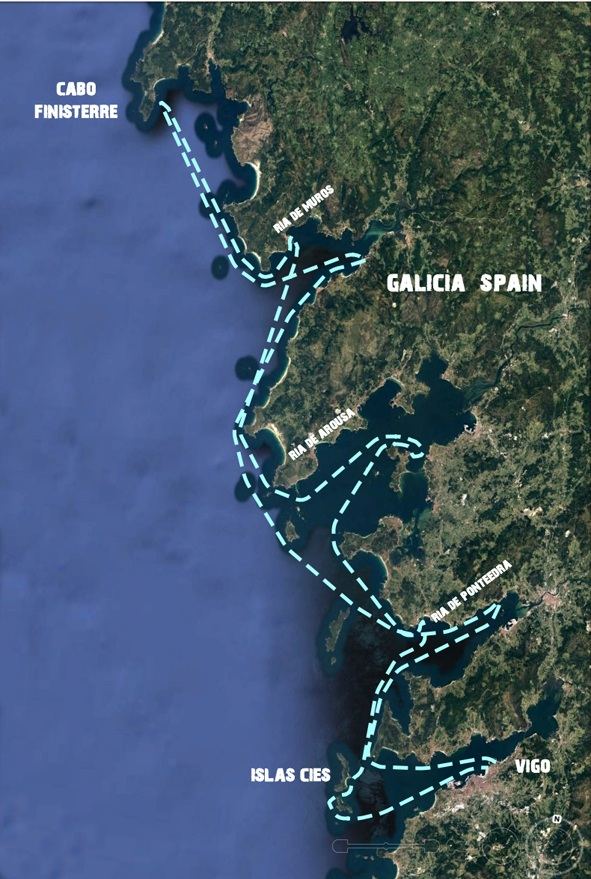 sailing-Galicia-Spain