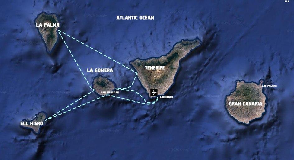 Eilandhoppen-Canarische-eilanden