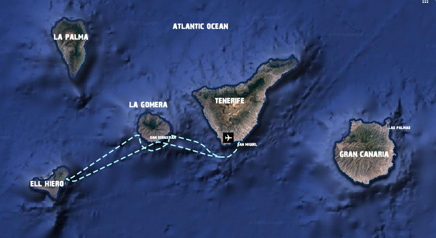 Island hopping canary islands