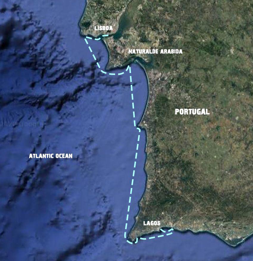 Sailing-Lisbon-Lagos