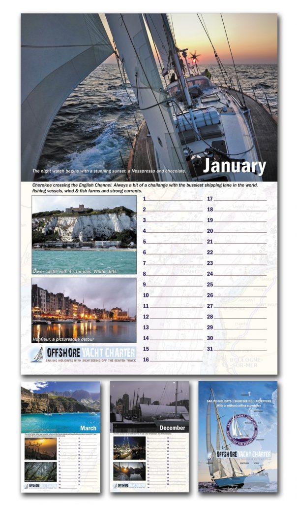 zeilvakantie kalender
